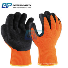 Heavy Duty 7G Textured Rubber Latex Palm Dipped Gloves for Construction