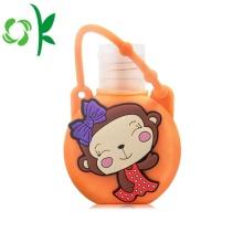 Support de parfum de désinfectant pour les mains en silicone avec un design mignon
