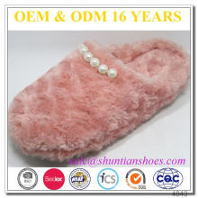 Fashion Design Moccasin Woman Slippers