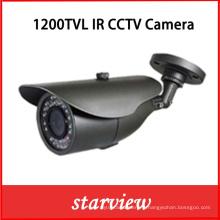 1200tvl IR fixe à l'extérieur CCTV balle caméra de sécurité (W10)
