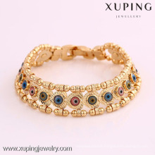 72025 Xuping Hot Selling 18K Plated Jewelry USA Stylish Eye Bracelets