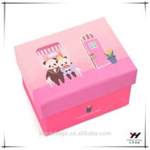 Kundenspezifischer transparenter PVC-Verpackungs-Schmucksache-Geschenkbox-kundenspezifischer Papierkasten