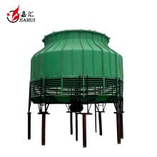 Tipo redondo de la torre de la refrigeración por agua del marco de FRP de la gran capacidad
