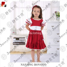 Christmas festival little kids puffy sleeve dress