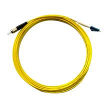 Cabo de remendo ótico da fibra 3m lc-fc da venda quente, cabo de remendo da fibra ao ar livre na fibra ótica 3m DX MM