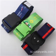 Bahan Polyester Custom Luggage Straps