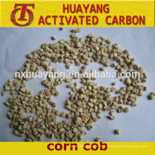 Maiskolben zum Polieren von Maiskörnern