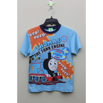 BOY'S 100% COTTON T-SHIRT WITH PRINT FOR THOMAS