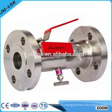 Air high pressure double bleed block valve