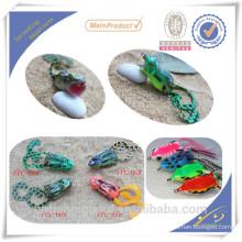 FGL002 HATSUGA Señuelo de pesca Saltar popper Rana de rana con ganchos VMC Señuelo de rana de plástico suave Raro emulational Lure