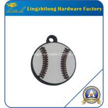 Esmalte de llenado de béisbol diseño encanto
