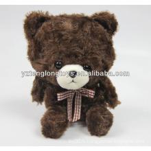 Симпатичный бурый медведь форме мини-игрушка диктофон для детей
