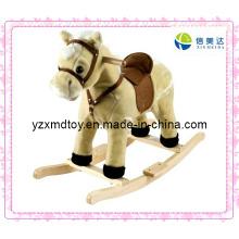 Rocking Horse Plush Toy for Kids
