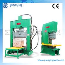 Máquina hidráulica de bloco de pavimentação para granito