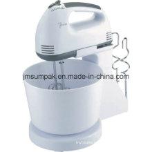 Velocidad 7 portátil mano mezclador batidora para harina