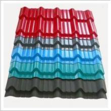 Feuille d'acier ondulé Feuille de piles / PPGI pour toit