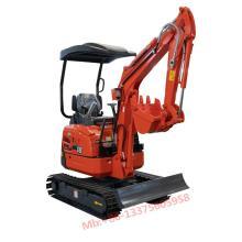 1.8 ton small crawler excavator XN18 mini digger popular in UK