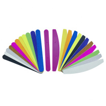 High Quality Private Label Custom Half moon Plastic Base Nail File plate For Refill sandpaper