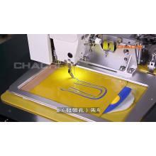 шаблон и высокоскоростное программируемое оборудование для шитья