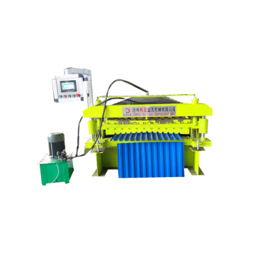 Double Liner Metal Roof Tile Making Machine