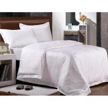 Новая коллекция Кровать Современная кровать Bed Plain White Hotel / Главная Комплект постельного белья (WS-2016005)