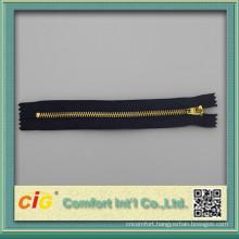 #4 brass zipper YG slider