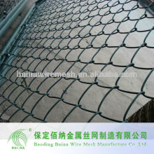 Verzinkter und PVC beschichteter Kettenverbindungszaun Hersteller