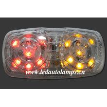 Lumière de signalisation latérale LED pour camions