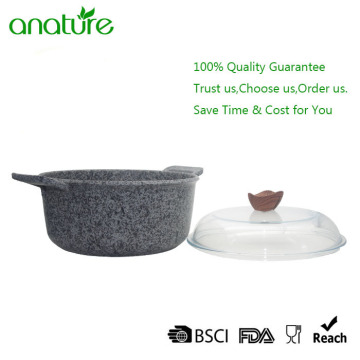 Granito antiadherente Coating Cooking Sauce Pot Cookware