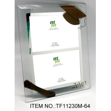 Yellow Glass Mirror Coated Picture Frames