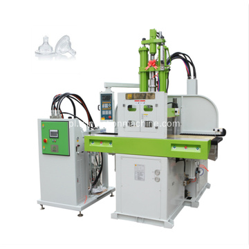 Slide Table LSR Infant Nipple Injection Moulding Machine