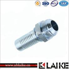 Linha masculina de Jic encaixes de tubo hidráulicos de 74 graus Swagelok