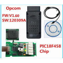 Neueste Version V1.60 für Opel OBD2 Opcom mit Pic18f458 Chip