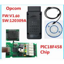 Новейшая версия V1.60 для Opel OBD2 Opcom с чипом Pic18f458
