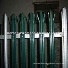 High Quality D or W Pales Palisade Fence PVC Manufacturing