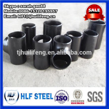 carbon steel 4-way cross pipe fitting