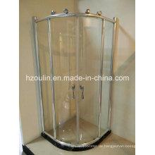 Dusche Enclosure mit Big Roller