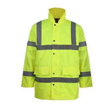 Manteau de protection jaune jaune