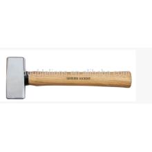 Lapidation marteau 1500G avec manche bois dur/frêne/hickory