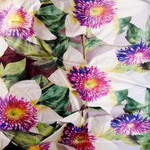 Billig Polyester gedruckt Vorhang Stoff / Best billig gebürstet Stoff