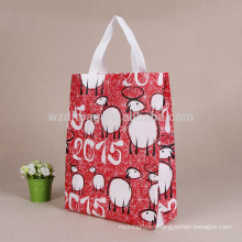 Hot Selling Reusable Custom Wholesale Ultrasonic Non Woven Tote Bag For Shopping