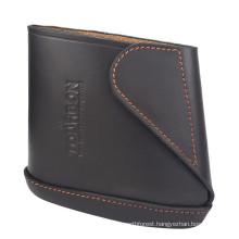 hunting genuine leather for three sizes gun stock buttstock cover/gun stock holder