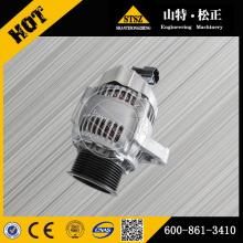 Komatsu Bagger Ersatzteile Komatsu PC200-7 Lichtmaschine 600-861-3410