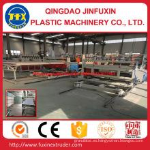 Máquina de la hoja de la espuma de la corteza de la construcción del PVC