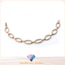 Bracelet en argent sterling 925 en or pour femmes à la vente chaude (BT6601)