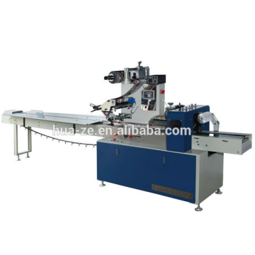 Horizontal biscuit pillow food packing machine