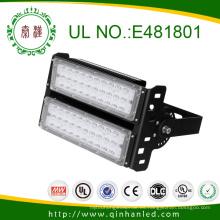 Luz de inundación de la lámpara 100W LED del túnel de la luz LED del punto de UL / Dlc IP65 LED al aire libre