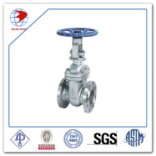 API 600 Stainless Steel A351 CF8 Hand Wheel 4inch Class150 Flanged End Gate Valve