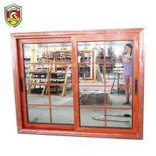 Ghana modern home decoration aluminium glass window grills design for sliding windows balcony