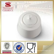 turkish style kitchen accessories , customized porcelain white sugar pot